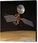 Mars Reconnaissance Orbiter Canvas Print