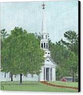 Martha Mary Chapel Canvas Print by Cliff Wilson
