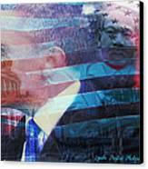Martin And Obama Canvas Print