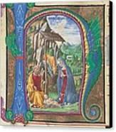 Martini Francesco Di Giorgio, Nativity Canvas Print by Everett