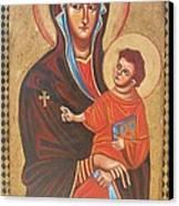 Mary Help Of The Romans Canvas Print by Joseph Malham