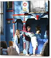 Maryland Renaissance Festival - A Fool Named O - 121216 Canvas Print by DC Photographer