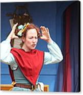 Maryland Renaissance Festival - A Fool Named O - 121217 Canvas Print