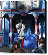 Maryland Renaissance Festival - A Fool Named O - 12123 Canvas Print by DC Photographer
