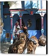 Maryland Renaissance Festival - A Fool Named O - 121230 Canvas Print by DC Photographer
