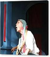 Maryland Renaissance Festival - A Fool Named O - 121233 Canvas Print by DC Photographer