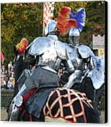Maryland Renaissance Festival - Jousting And Sword Fighting - 121246 Canvas Print by DC Photographer
