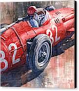 Maserati 250f J M Fangio Monaco Gp 1957 Canvas Print