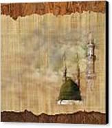 Masjid E Nabwi 01 Canvas Print by Catf