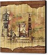 Masjid E Nabwi Sketch Canvas Print