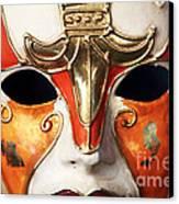 Mask Canvas Print by John Rizzuto