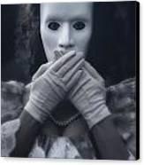 Masked Woman Canvas Print by Joana Kruse