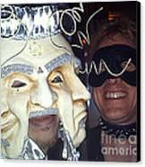 Masquerade Masked Frivolity Canvas Print