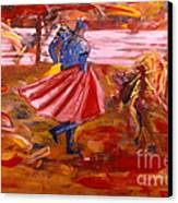Matador Canvas Print by Mounir Mounir