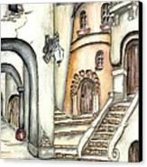 Matera Canvas Print by Pamela Allegretto