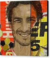 Mats Hummels Canvas Print by Corporate Art Task Force