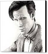 Matt Smith 2 Canvas Print