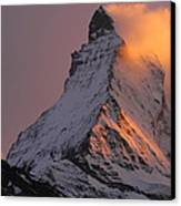 Matterhorn At Sunset Canvas Print by Jetson Nguyen