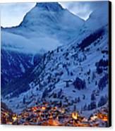 Matterhorn At Twilight Canvas Print