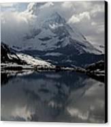 Matterhorn Reflection From Riffelsee Lake Canvas Print by Jetson Nguyen