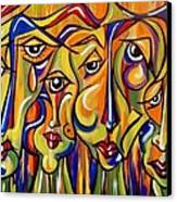 Maudlin Maidens Canvas Print by Nickie Bradley
