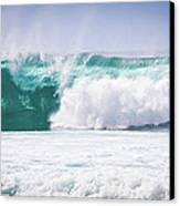 Maui Huge Wave Canvas Print by Denis Dore