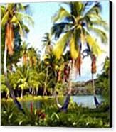 Mauna Lani Fish Ponds Canvas Print