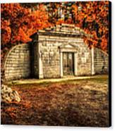 Mausoleum Canvas Print by Bob Orsillo