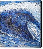 Mavericks Wave Canvas Print by RJ Aguilar