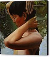 May Morning Arkansas River 3 Canvas Print