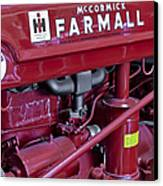 Mc Cormick Farmall Super C Canvas Print by Susan Candelario
