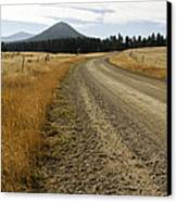 Mcclellan Creek Rd Helena Montana Canvas Print by Dana Moyer