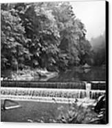 Mcconnell Mills B W Wat 255 Canvas Print