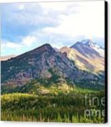 Meadow And Mountains Canvas Print by Kathleen Struckle