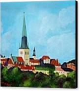Medieval Tallinn Canvas Print