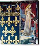Medieval Tapestry Canvas Print by France  Art