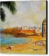 Medina Of Tetouan Canvas Print