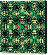 Medusa Abstract 20130131p38 Canvas Print by Wingsdomain Art and Photography