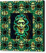 Medusa's Window 20130131p38 Canvas Print by Wingsdomain Art and Photography