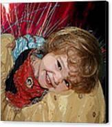 Meet Snow White Canvas Print by Ellen Henneke