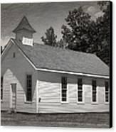 Meeting House Canvas Print