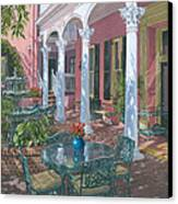 Meeting Street Inn Charleston Canvas Print by Richard Harpum