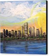 Melisa's Sunrise Canvas Print
