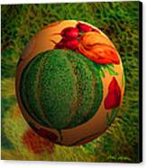 Melon Ball  Canvas Print by Robin Moline