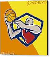 Memorial Day Basketball Classic Poster Canvas Print