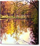 Memorial Park - Henry County Canvas Print