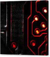 Memory Chip Bwr Canvas Print by Bob Orsillo