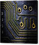 Memory Chip Number Two Canvas Print