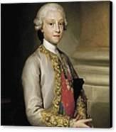 Mengs, Anton Raphael 1728-1779. Infante Canvas Print by Everett