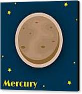 Mercury Canvas Print by Christy Beckwith